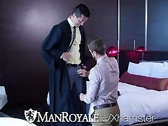 ManRoyale College Girl Wesley Woods fucked for graduation