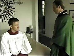 TJ Cummings Altar Stud & Priest Roleplay & Spanking