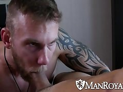 ManRoyale - Damien Michaels Makes Love Hump
