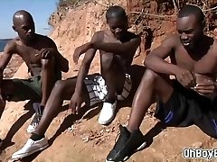 Hot african men have hardcore homosexual sex
