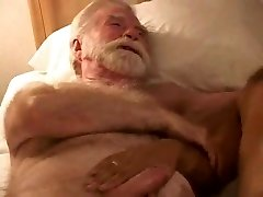 hot mature older guy three-way