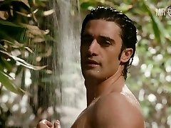 Gilles Marini full frontal shower vignette