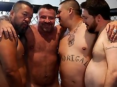 Marc Angelo's Gangbang Wish - BearFilms