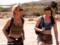 In a post apocalyptic future, Darling and Casey Calvert are captured by a savage hunter who...