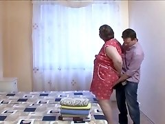 BBW GRANDMOTHER MAID LOVE HUGE CHISEL
