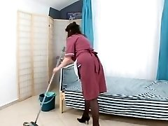 boy plow fur covered mature maid