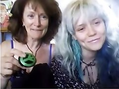 Real madre y no la hija de la Webcam 85