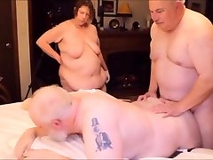 Elderly Bisex Party