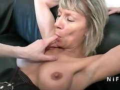 Spray french mature rock-hard analized for her casting couch