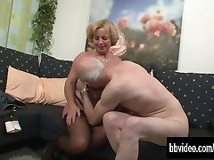 Mature german couple romping