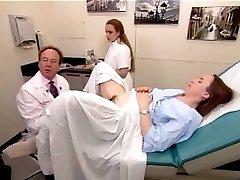 Egy igazi vizsga videó egy szőrös érett nő 2