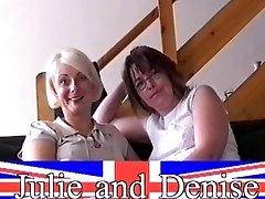 Nervų housewifes pirmasis lesbiečių susidurti