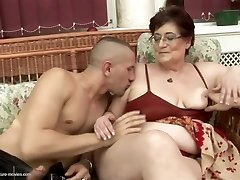 Crazy old and young couples at pissing gangbangs