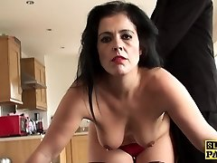 Mature sub booty-fucked until crimson raw and ruined