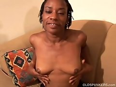 Super-cute dark-hued MILF wishes you were fucking her juicy pussy