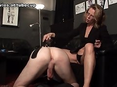 Marga in Caught And Handled By His Domina - FunMovies