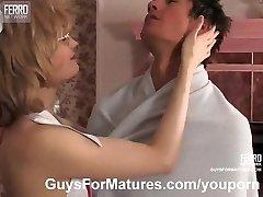 MILF medicinska sestra raje seks terapija