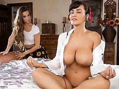 Lisa Ann & Cassidy Klein in Mama ' s Meditation-Video