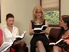 Great Girl-girl Orgy By Crazy Matures