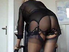 Küps hottie kohta lingerie