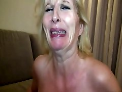 Mature v pantyhose