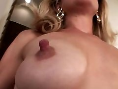 Small saggy mounds with huge nipples