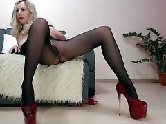 Dame Mature webcam collants montrer
