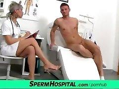 cfnm dzimumlocekļa medicīnas eksāmenu ar sexy čehijas milf ārsts beate