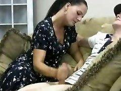 Stacey's Mamma - Veronica Cfnm Handjob