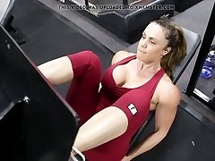 Fitnesa hot ass karstā cameltoe 80
