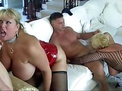 Hot Mature Huge-chested Cougars Group-fucked