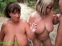 Granny Kims beach spunk party