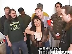 Susien Gang Bang Bukkake Party Tampa Bukkake