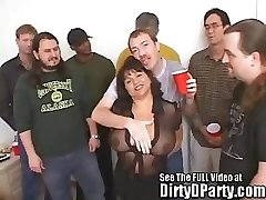 Susie's Gang Bang Bukkake Party With Sloppy D