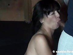 Saskia Bukkake Party