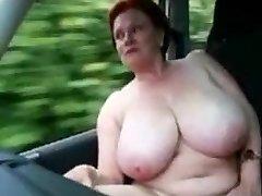 Jokey in the car
