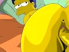 Simpsons Porno - Homer jebe Marge
