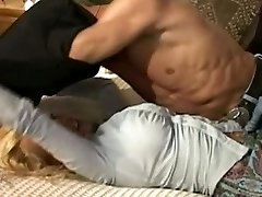 Busty mom in relation with her step-son
