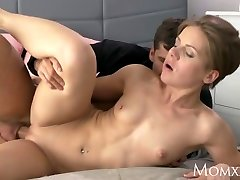 MOM Wet milf takes rock-hard cock doggie