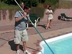 COUGAR Seduces the Pool Boy - Cireman