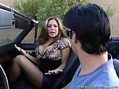 COUGAR Blowjob in a Muscle Truck!
