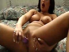Seksualus Subrendęs Žaisti Su Savo Žaislais