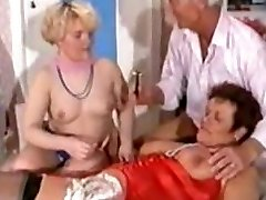 German Mature 3some - Pruning, Fisting Anal