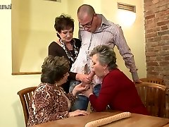 Grandma Grandma and Grandma fucked by youthfull boy
