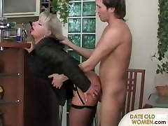 Smoking MILF pulverized from behind