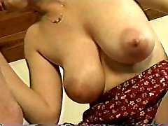 Milf fucks fortunate guy