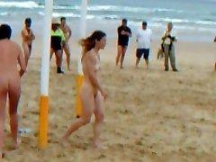 stranden sport