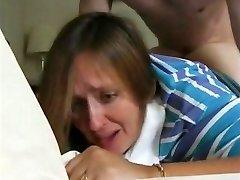 nemrég elvált anya janet & az első anális