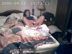 Covert cam catches mom first-ever time
