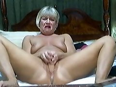Hot Blonde Mature on cam Two